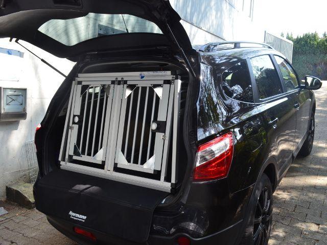 Hundebox doppelbox f r nissan qashqai j10 2 sonderbau for Nissan farben qashqai