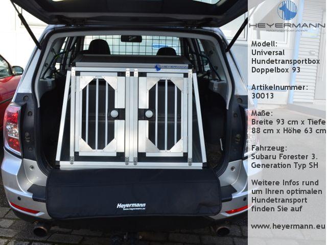 Hundebox Doppelbox Für Audi A4 Avant Bmw 3er Touring Renault
