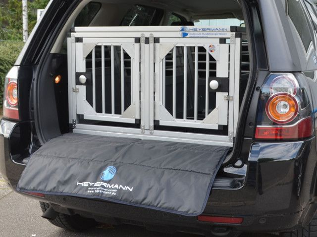 Sichere und stabile aluminium hundetransportbox f r land rover freelander hundebox transportbox - Trennwand englisch ...
