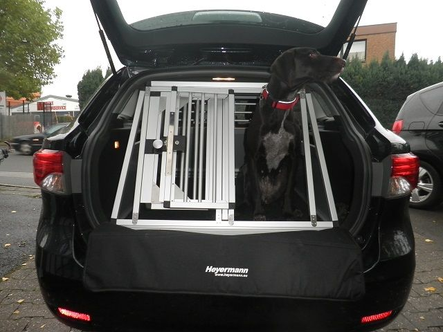 hundebox doppelbox f r toyota avensis 3 generation typ. Black Bedroom Furniture Sets. Home Design Ideas