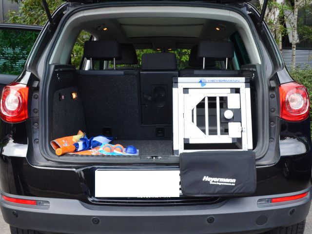 hundebox einzelbox f r vw tiguan mit variablen ladeboden. Black Bedroom Furniture Sets. Home Design Ideas