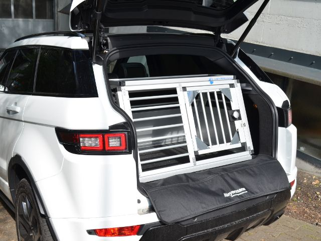 hundebox einzelbox f r land rover range rover evoque. Black Bedroom Furniture Sets. Home Design Ideas