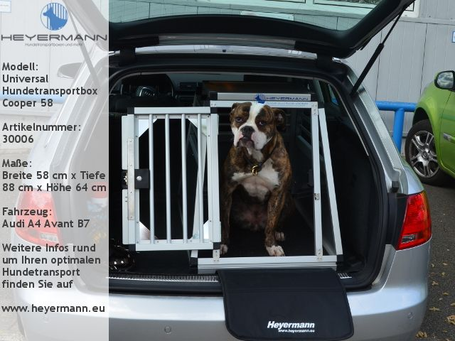 Hundebox Für Audi A4 Avant Bmw 3er Touring Mercedes C Klasse Und