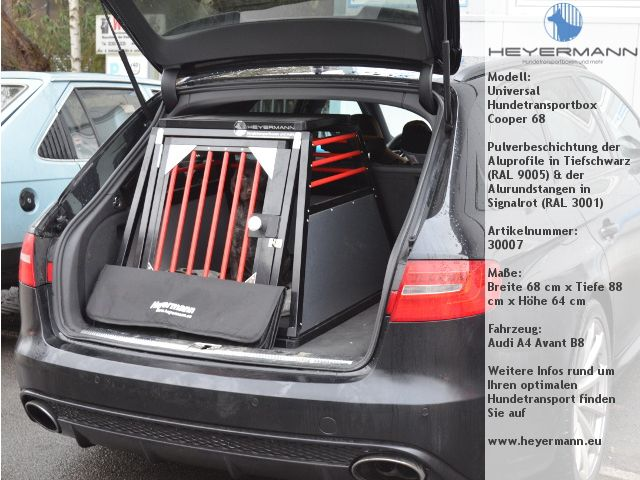 Hundebox Für Audi A6 Avant Bmw 5er Touring Vw Passat Variant Und