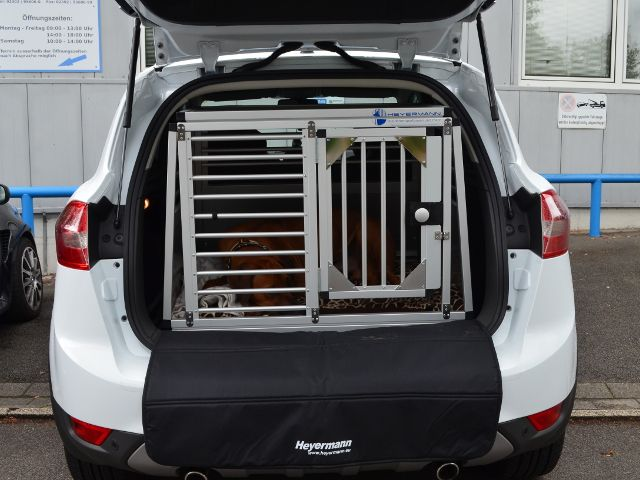 hundetransportbox einzelbox f r ford kuga 1 generation. Black Bedroom Furniture Sets. Home Design Ideas