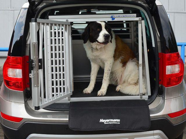 Hundetransportbox Einzelbox Fur Skoda Yeti Mit Variablen