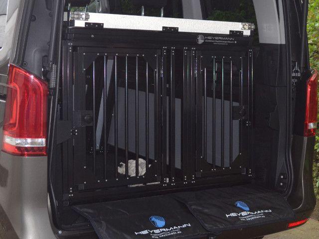 Sichere und stabile aluminium hundetransportbox f r for Stabile dreiecke