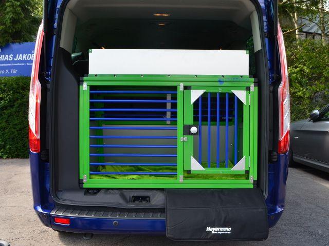 individuelle hundebox einzelbox f r ford tourneo custom. Black Bedroom Furniture Sets. Home Design Ideas