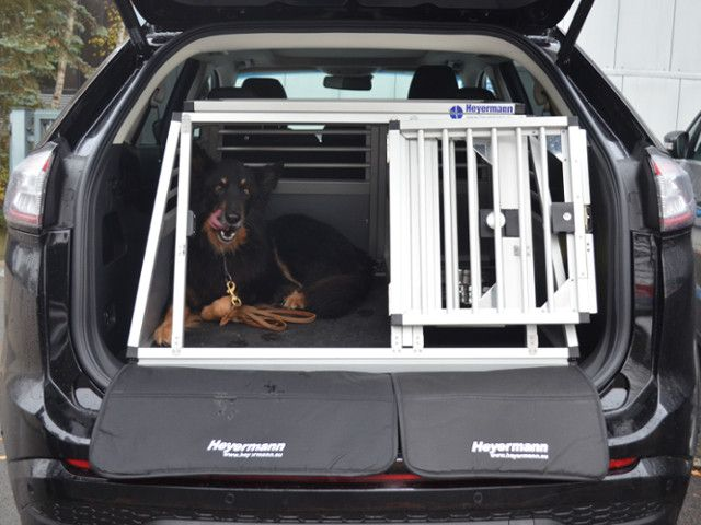 individuelle hundetransportbox doppelbox f r ford edge 2. Black Bedroom Furniture Sets. Home Design Ideas