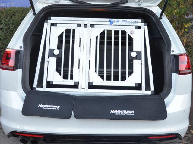 Individuelle Hundetransportbox Doppelbox Fur Vw Golf 7 Variant