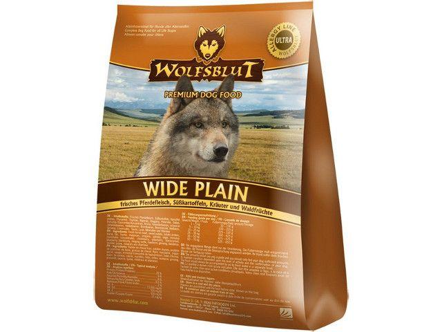 wolfsblut wide plain senior pferd s sskartoffel 15 kg 64 80. Black Bedroom Furniture Sets. Home Design Ideas