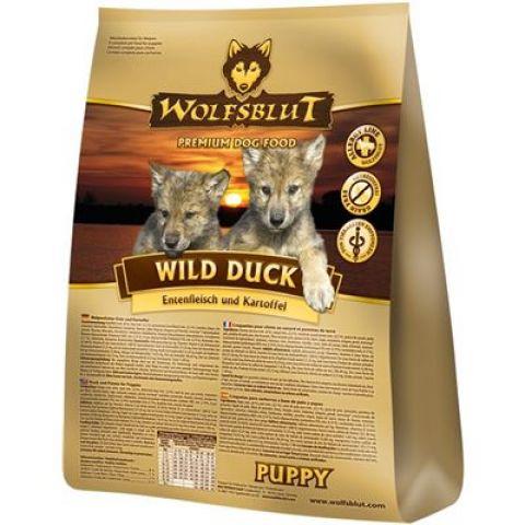 wolfsblut wild duck puppy kartoffel ente 0 5 kg 3 59. Black Bedroom Furniture Sets. Home Design Ideas