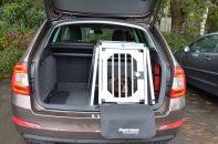 hundebox einzelbox f r skoda fabia 2 combi ohne variablen. Black Bedroom Furniture Sets. Home Design Ideas