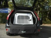 Hundetransportbox/ Einzelbox für Ford Fiesta JH1/JD3...