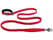 RUFFWEAR Roamer Leash Hundeleine, rot (Stretchleine ideal...
