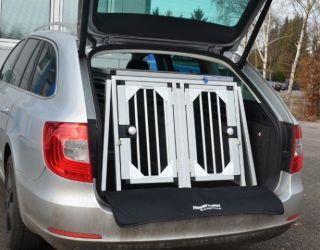 Hundebox Doppelbox Fur Skoda Superb 2 Combi Sonderbau 209