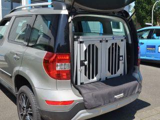 Hundebox Doppelbox Fur Skoda Yeti Ohne Variablen Ladeboden